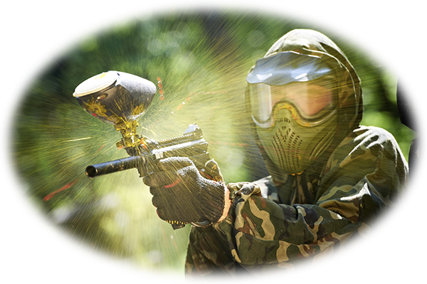 Paintball get the adrenaline up